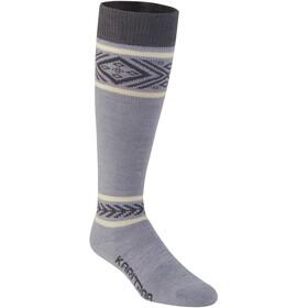 Kari Traa Floke Socks Dame Grey Melange